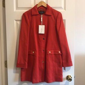 Salvatore Ferragamo Jacket in coral-red